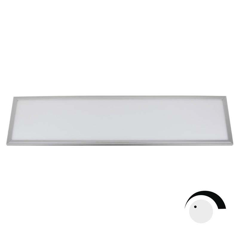 Panel 40W, ChipLed Samsung + TUV driver, 30x120cm, 0-10V regulable, Blanco cálido, Regulable